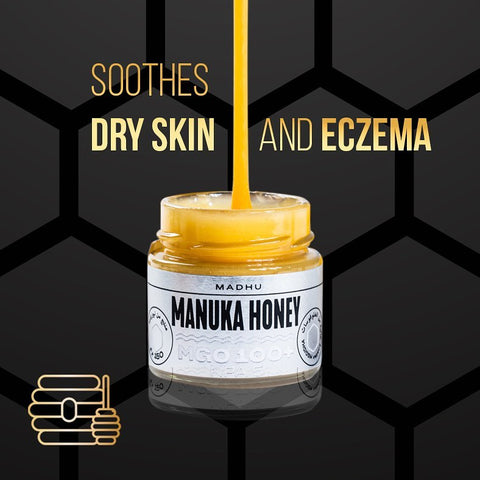 Manuka Honey soothes Dry Skin and eczema