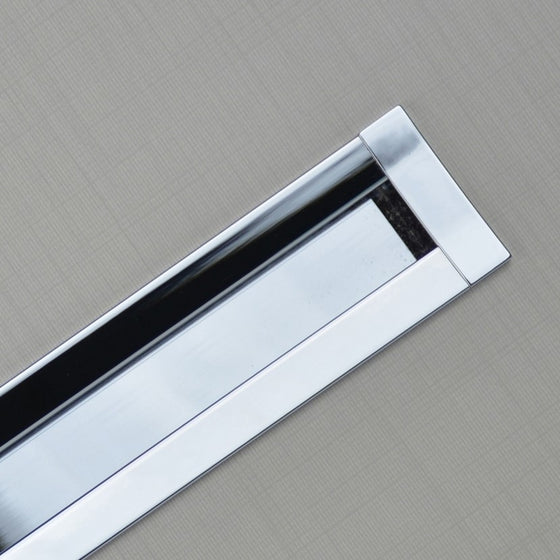 "SMART RECESSED PULL Centers 17 5-8"" Chrome"
