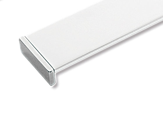 "LINEA PULL Centers 17 5-8"" Chrome White"