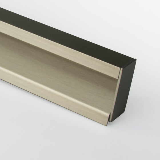"LEON PULL 118"" x 1 3-8"" Profile Stainless steel"