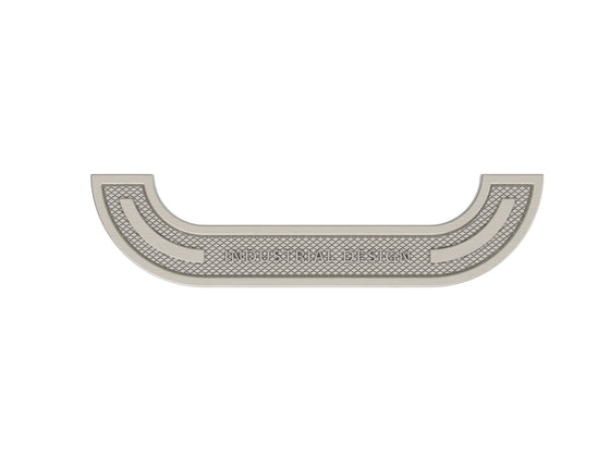 "INDUSTRIAL DESIGN PULL 6 1-4"" Brushed Nickel"