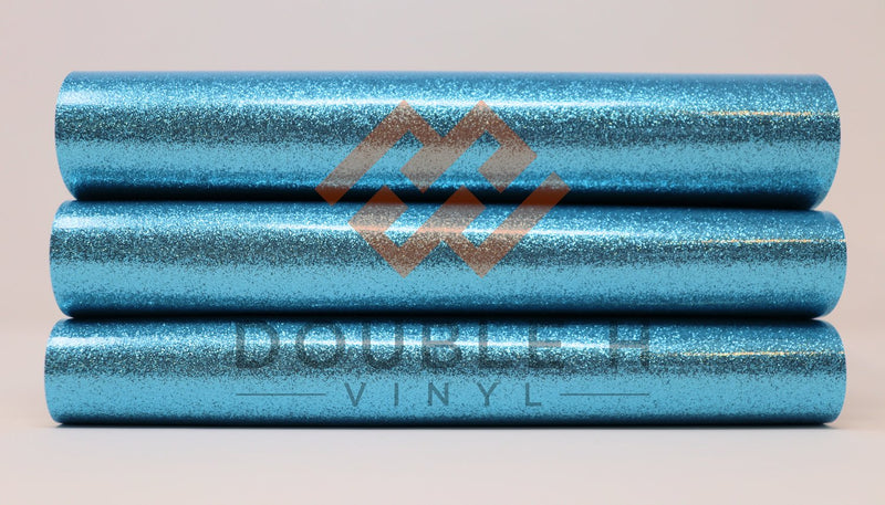 Light Blue Glitter-Vinyl