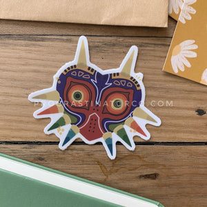 Majoras Mask Vinyl Sticker