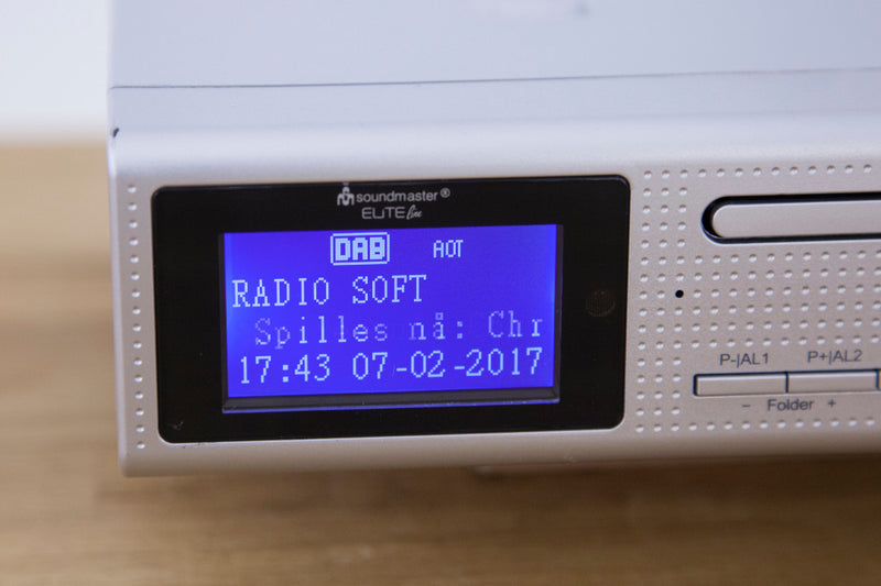 Soundmaster DAB+/CD kjøkkenradio