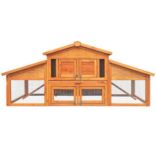 Load image into Gallery viewer, Gardeon 2 Storey Wooden Hutch