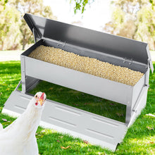 Load image into Gallery viewer, Giantz Auto Chicken Feeder Automatic Chook Poultry Treadle Self Opening Coop