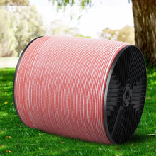 Load image into Gallery viewer, Giantz 1200M Electric Fence Wire Tape Poly Stainless Steel Temporary Fencing Kit