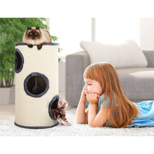 Load image into Gallery viewer, i.Pet Cat Tree 70cm Trees Scratching Post Scratcher Tower Condo House Furniture Wood