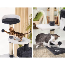 Load image into Gallery viewer, i.Pet Cat Tree 112cm Trees Scratching Post Scratcher Tower Condo House Furniture Wood