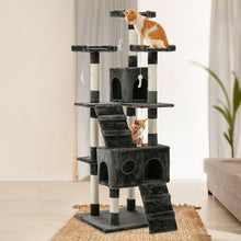 Load image into Gallery viewer, i.Pet Cat Tree 180cm Trees Scratching Post Scratcher Tower Condo House Furniture Wood