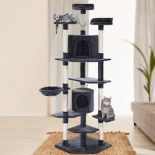 Load image into Gallery viewer, i.Pet Cat Tree 203cm Trees Scratching Post Scratcher Tower Condo House Furniture Wood