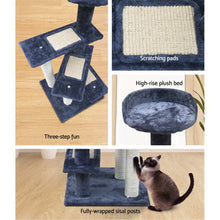 Load image into Gallery viewer, i.Pet Cat Tree 100cm Trees Scratching Post Scratcher Tower Condo House Furniture Wood Steps