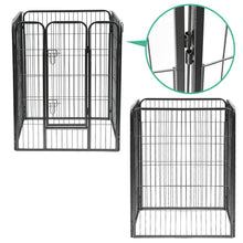 Load image into Gallery viewer, i.Pet 8 Panel Pet Dog Playpen Puppy Exercise Cage Enclosure Fence Play Pen 80x100cm