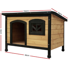 Load image into Gallery viewer, i.Pet Large Wooden Pet Kennel