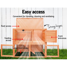 Load image into Gallery viewer, i.Pet 93cm Tal Wooden Pet Coop