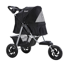 Load image into Gallery viewer, i.Pet Pet Stroller Dog Carrier Foldable Pram Large Black
