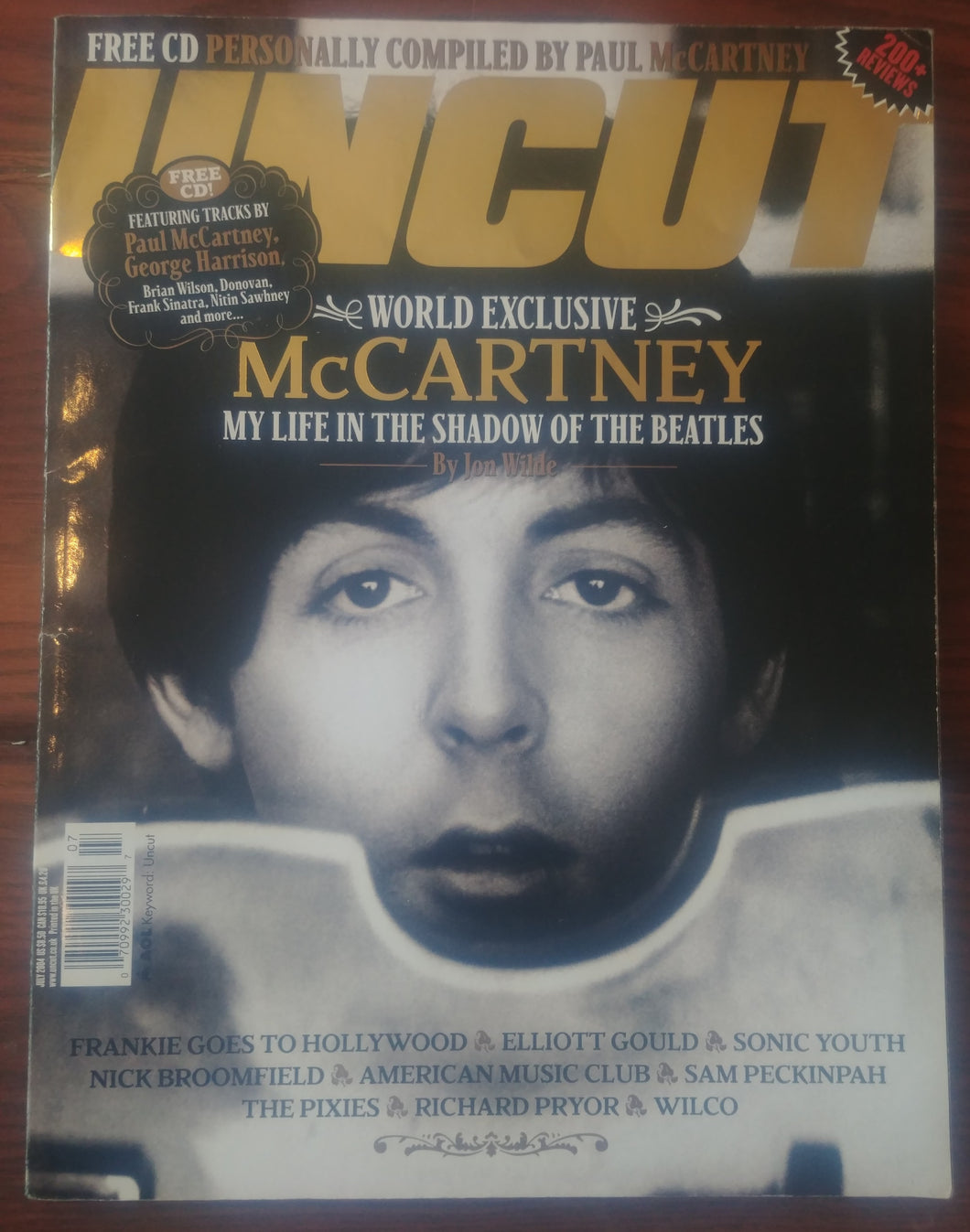 Uncut - Juillet 2004 / Paul McCARTNEY