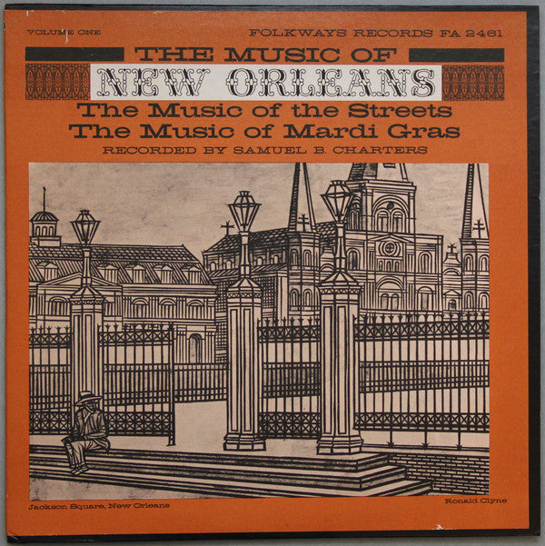 Various ‎– The Music Of New Orleans Volume One (Vinyle usagé / Used LP)