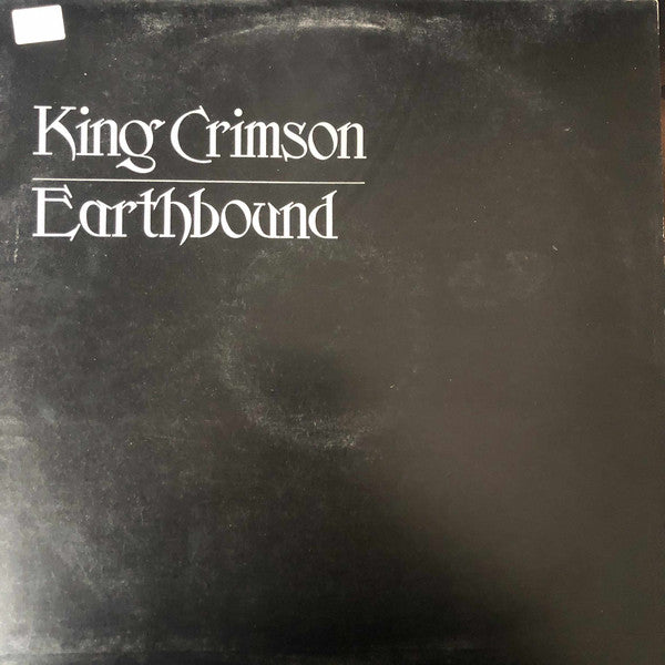 King Crimson ‎– Earthbound (Vinyle usagé / Used LP)