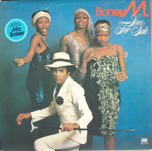 Boney M. ‎– Love For Sale (Vinyle usagé / Used LP)