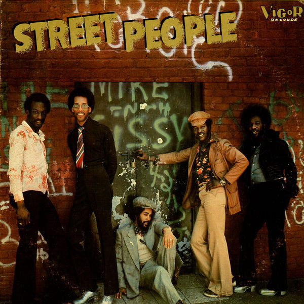 Street People ‎– Street People (sealed) (Vinyle usagé / Used LP)