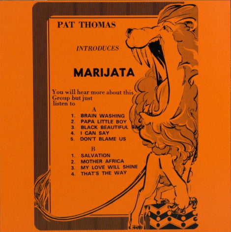 Pat Thomas Introduces Marijata ‎– Pat Thomas Introduces Marijata (Vinyle neuf/New LP)