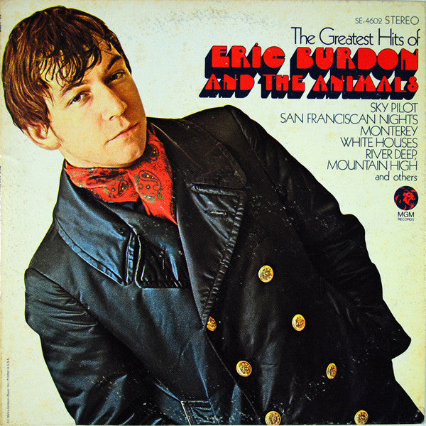 Eric Burdon And The Animals* ‎– The Greatest Hits Of Eric Burdon And The Animals (Vinyle usagé / Used LP)