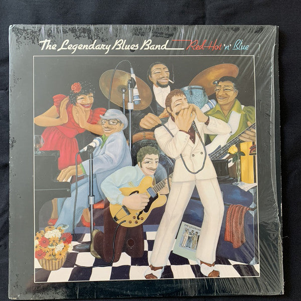 The Legendary Blues Band* ‎– Red Hot 'N' Blue (Vinyle usagé / Used LP)