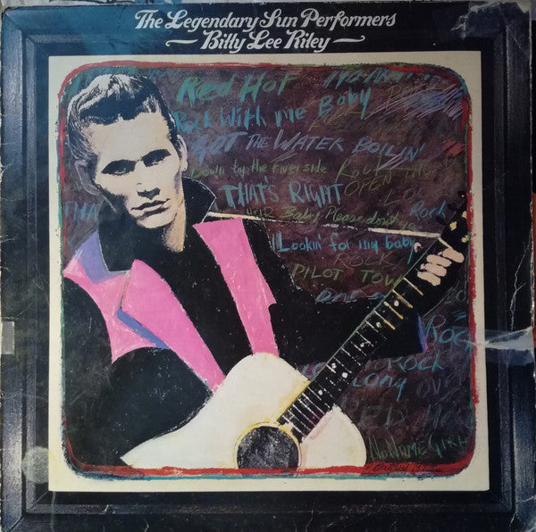 Billy Lee Riley ‎– The Legendary Sun Performers (Vinyle usagé / Used LP)