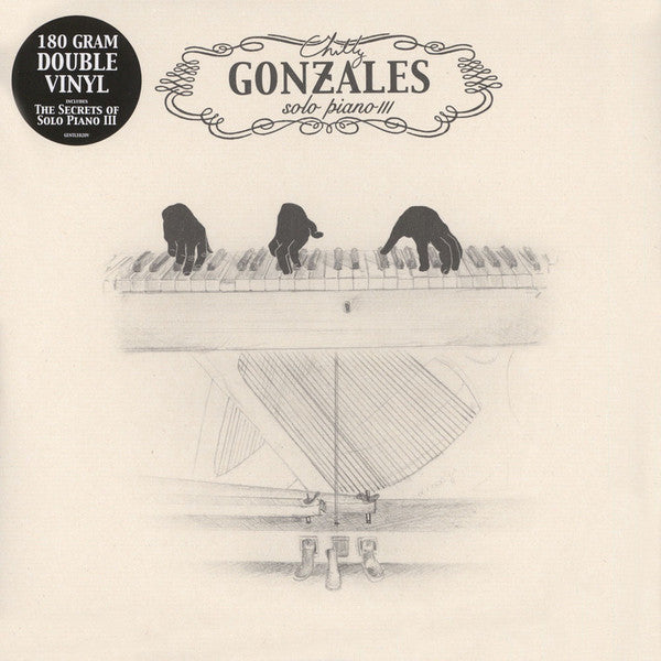 Chilly Gonzales* ‎– Solo Piano III (Vinyle neuf/New LP)