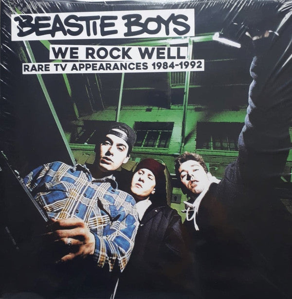 Beastie Boys ‎– We Rock Well - Rare TV Appearances 1984-1992 (Vinyle neuf/New LP)