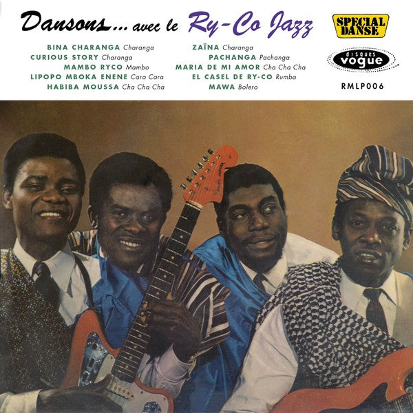 Le Ry-Co Jazz ‎– Dansons... Avec Le Ry-Co Jazz (Vinyle neuf/New LP)