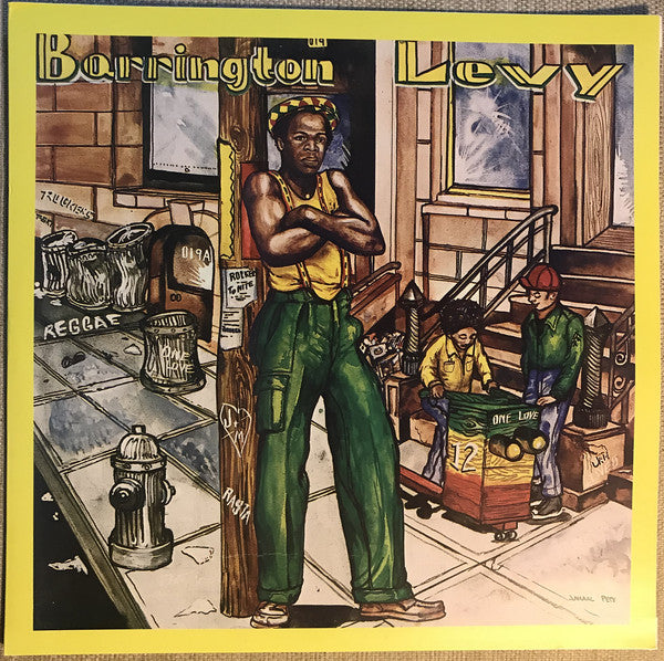 Barrington Levy ‎– Poorman Style (Vinyle neuf/New LP)