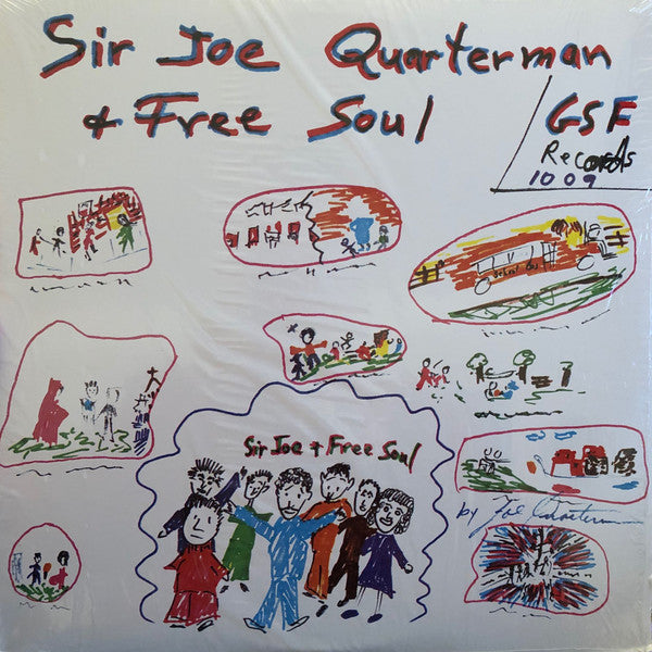 Sir Joe Quarterman & Free Soul ‎– Sir Joe Quarterman & Free Soul (Vinyle neuf/New LP)