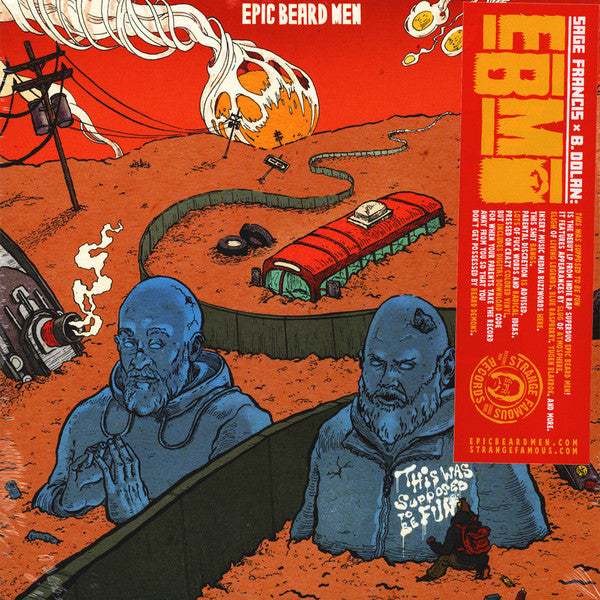 Epic Beard Men ‎– This Was Supposed To Be Fun (Vinyle neuf/New LP)