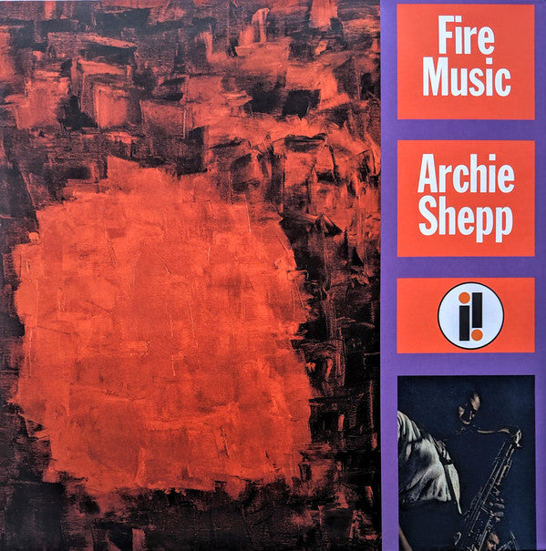 Archie Shepp ‎– Fire Music (Vinyle neuf/New LP)