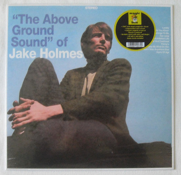 Jake Holmes ‎– The Above Ground Sound Of Jake Holmes (Vinyle neuf/New LP)
