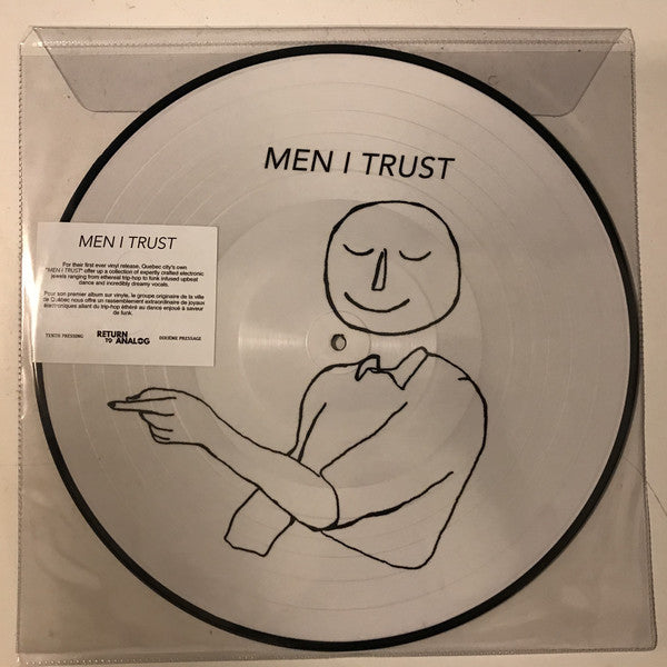 Men I Trust ‎– Men I Trust (Picture Disc) (Vinyle neuf/New LP)