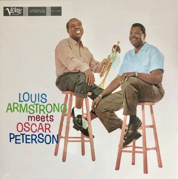 Louis Armstrong, Oscar Peterson ‎– Louis Armstrong Meets Oscar Peterson (Acoustic Sounds series) (Vinyle neuf/New LP)