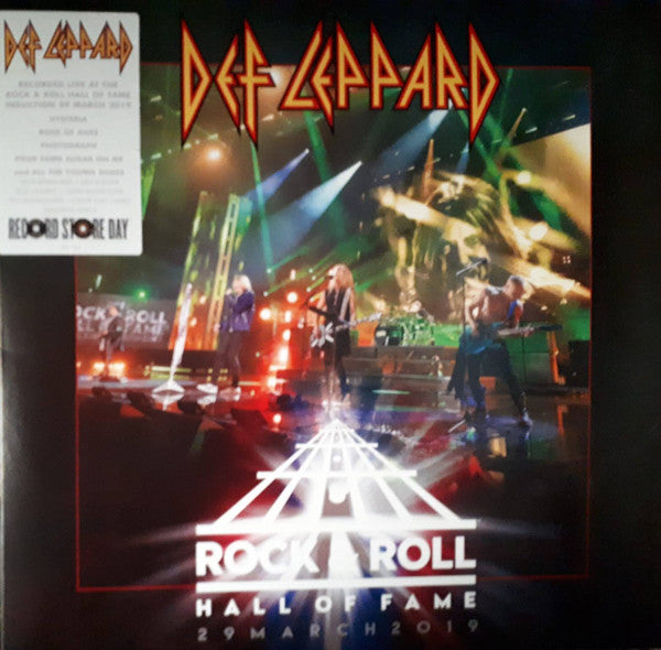 Def Leppard ‎– Rock & Roll Hall Of Fame 29 March 2019 (Vinyle neuf/new LP)