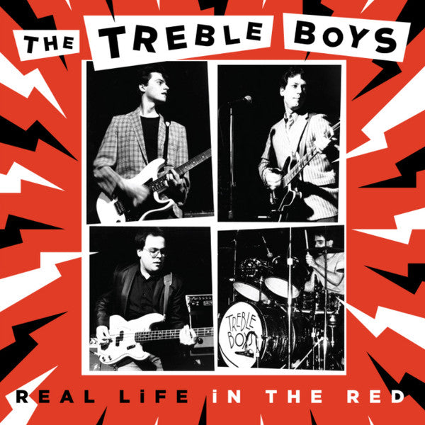 Treble Boys ‎– Real Life In The Red (Vinyle neuf/New LP)