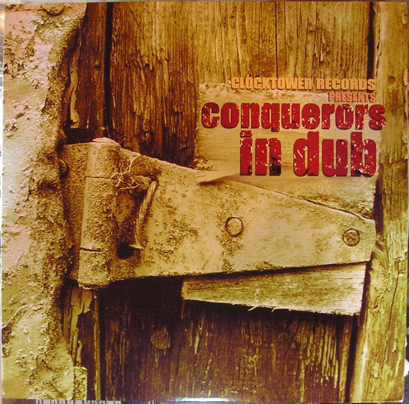 The Revolutionaries ‎– Clocktower Records Presents...Conquerors In Dub (Vinyle neuf/New LP)