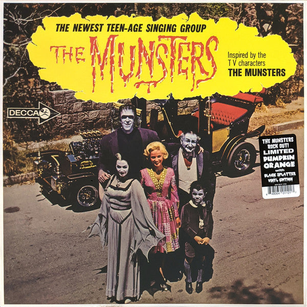 The Munsters (3) ‎– The Munsters (Vinyle neuf/New LP)