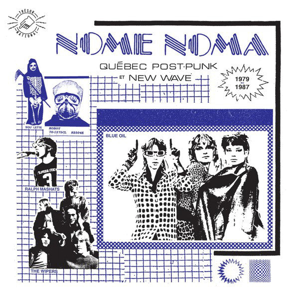 Various ‎– Nome Noma Québec Post-Punk Et New Wave 1979-1987 (Vinyle neuf/New LP)