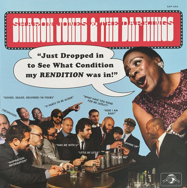 Sharon Jones & The Dap-Kings ‎– Just Dropped In (To See What Condition My Rendition Was In) (Vinyle neuf/New LP)