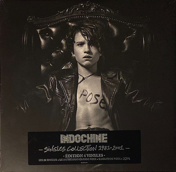 Indochine ‎– Singles Collection 1981 - 2001 (Vinyle neuf/New LP)