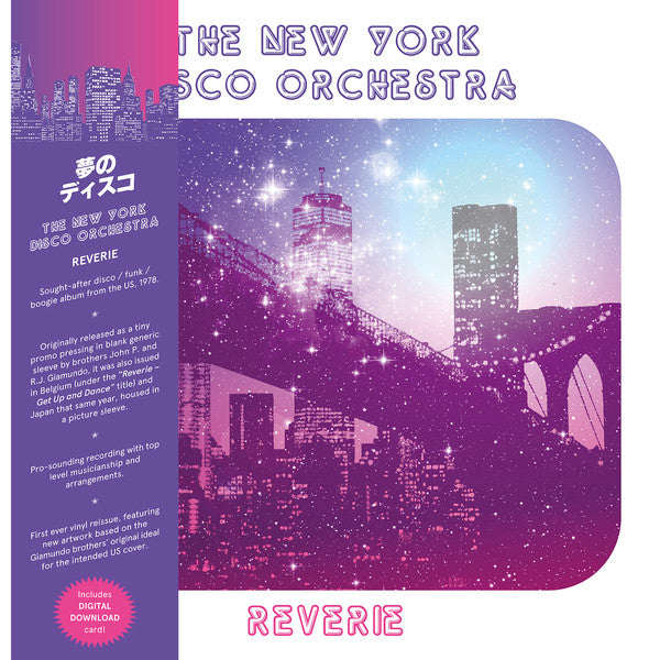 The New York Disco Orchestra ‎– Reverie (Vinyle neuf/New LP)