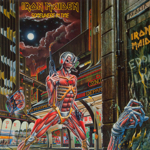 Iron Maiden ‎– Somewhere in time (Vinyle neuf/New LP)