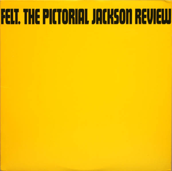 Felt ‎– The Pictorial Jackson Review (Vinyle usagé / Used LP)