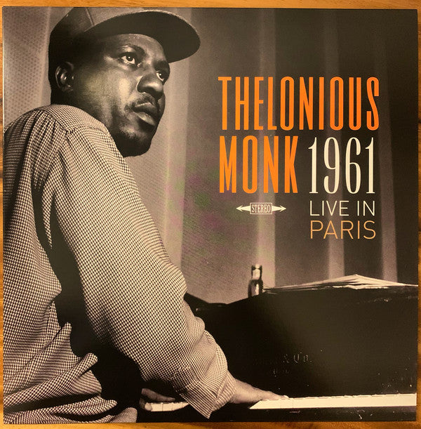 Thelonious Monk ‎– 1961 Live In Paris (Vinyle neuf/New LP)